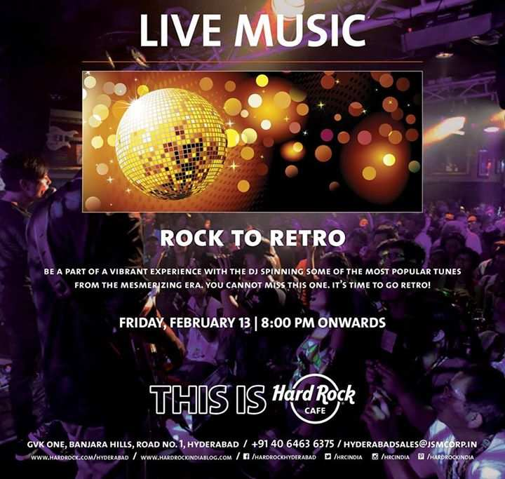 Hard Rock Cafe Hyderabad Events
