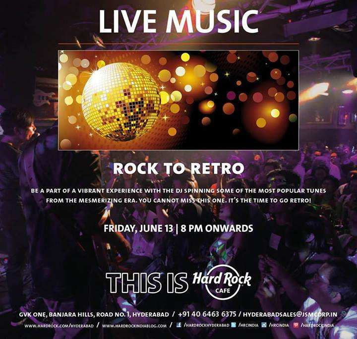 Hard Rock Cafe Hyderabad Pictures