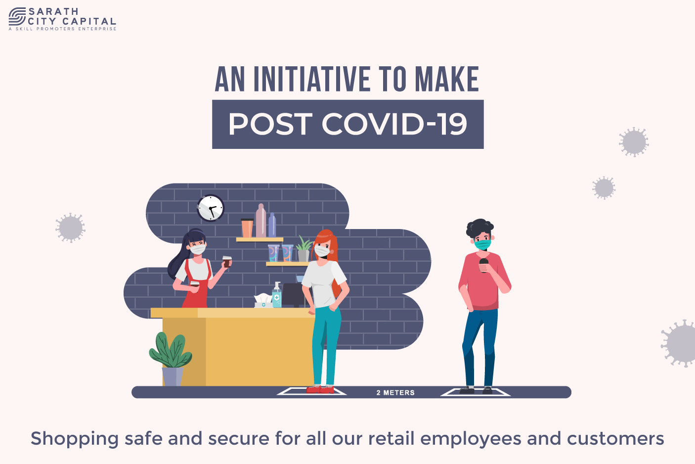 Sarath City Capital Mall Post COVD-19 Safety Initiatives
