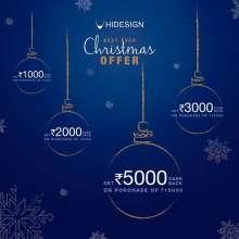 Hidesign Christmas Offer  until 20th December 2019