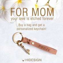 Etch Your Love For Your Mother! Hidesign Mothers Day Offer