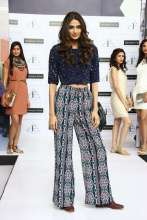 Athiya Shetty walking the ramp at the launch of Femina FLAUNT at Shoppers Stop