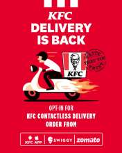 KFC India resumes delivery to customers in partnership with Swiggy and Zomato